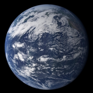 Photo-like_view_of_Earth_is_based_largely_on_observations_from_MODIS